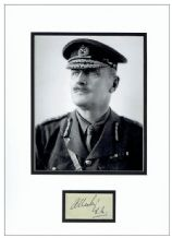 Field Marshal Edmund Allenby Autograph Signed Display